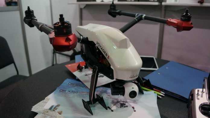 CES. Aufregung um angeblichen Nachbau der Inspire-1-Drohne