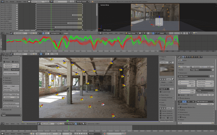 Das neue Layout für Motion Tracking