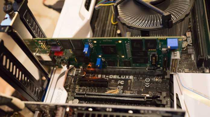 CES: Marvell zeigt funktionstüchtige NVMe-SSD