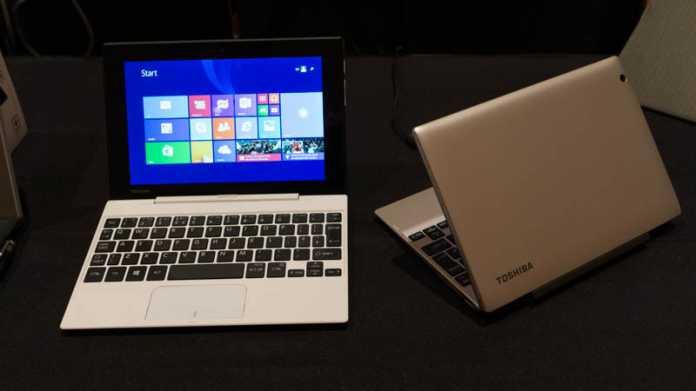 CES: Windows-Tablets mit Stift oder Core M vom Toshiba
