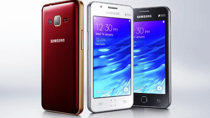 Samsung bringt erstes Tizen-Smartphone in Indien auf den Markt
