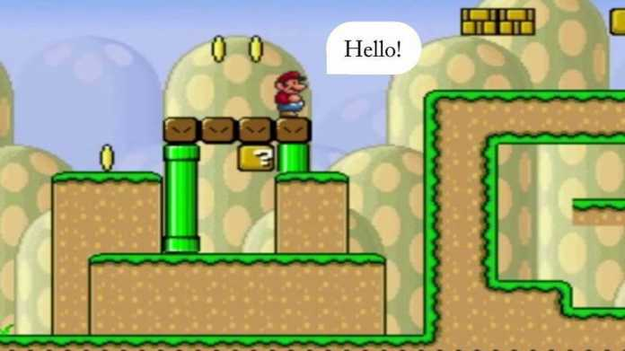 Forschungsprojekt: Videospielheld Super Mario mit Gefühlsleben