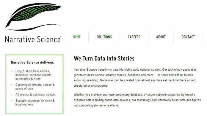 Roboter-Texte für Finanzfirmen, Geheimdienste – und Verbraucher?