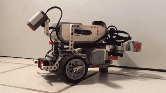 Der Lego Mindstorms Roboter EV3