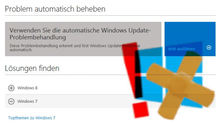 Hilfe gegen klemmendes Windows-Update