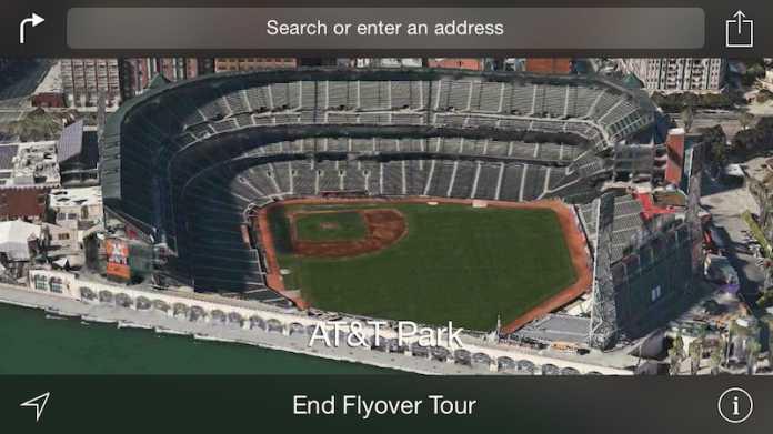 Kartendienst: Apple erweitert Flyover-Überflüge um neun weitere Städte
