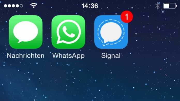 Signal 2.0 verschlüsselt jetzt auch Text