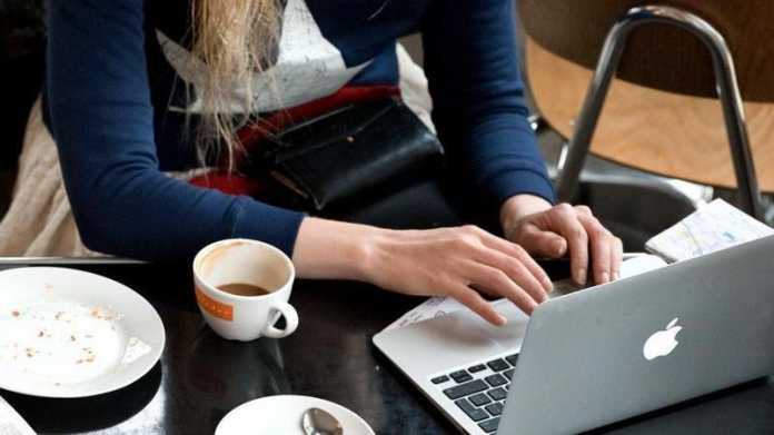 WLAN im Café