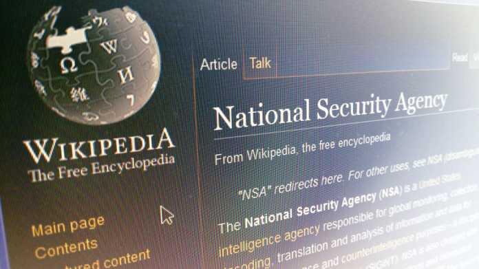 NSA-Skandal: Wikimedia verklagt US-Geheimdienst