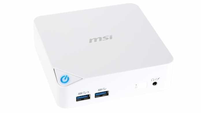 Mini-PC MSI Cubi mit Broadwell-U