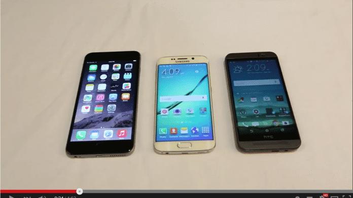 Bentgate: Auch das Galaxy S6 Edge kann man verbiegen und zerbrechen