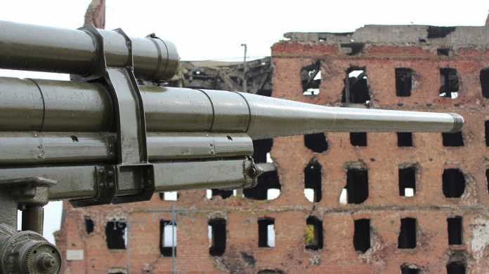 Krieg, Kanone, Gewalt Zerstörung