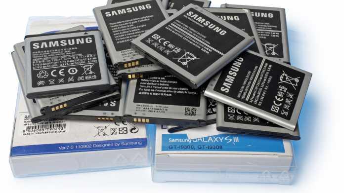 Gefälschte Samsung-Akkus bei Amazon