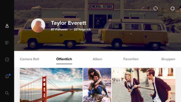 Flickr-App mit Upload-Automatik für Videos