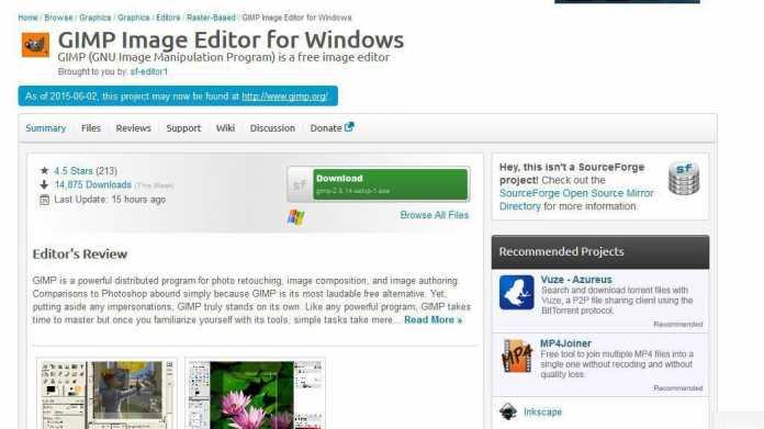 Nach GIMP-Streit um Adware: SourceForge rudert zurück