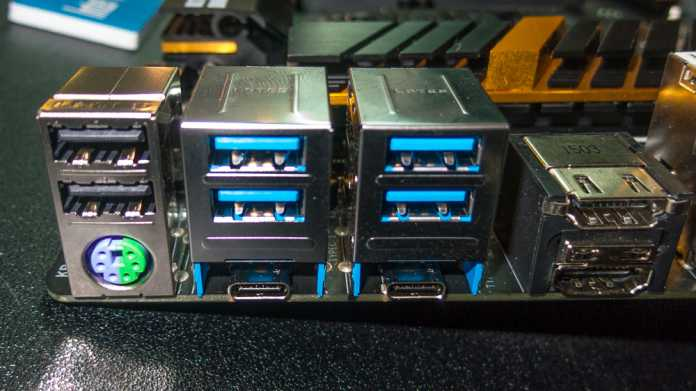 Computex: Erste Mainboards mit Thunderbolt 3