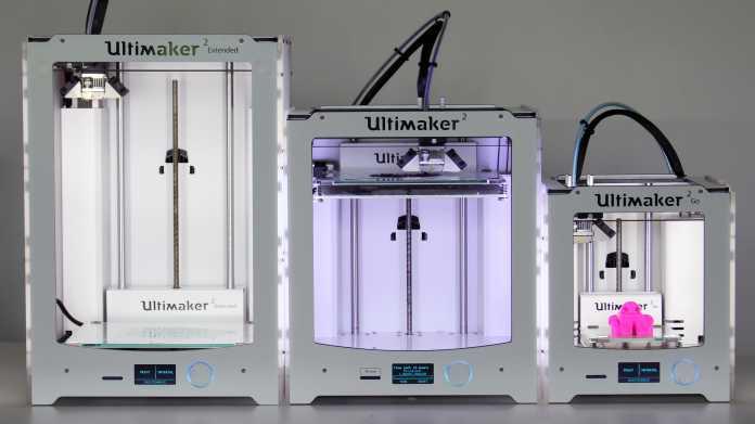 Ausprobiert: 3D-Drucker Ultimaker 2 Extended und Ultimaker 2 Go