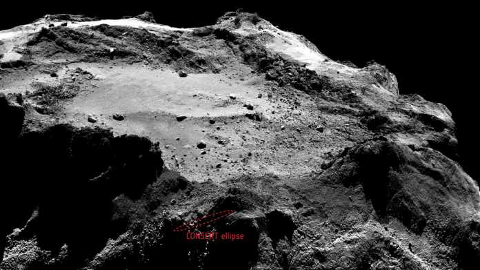 Kometenlander Philae auf Rosetta