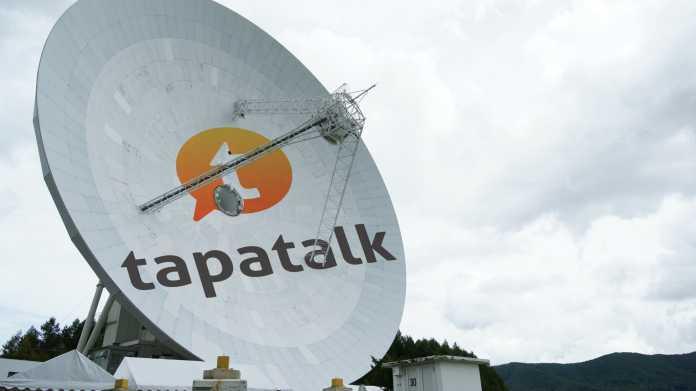 Tapatalk Plug-in Satelitenschüssel