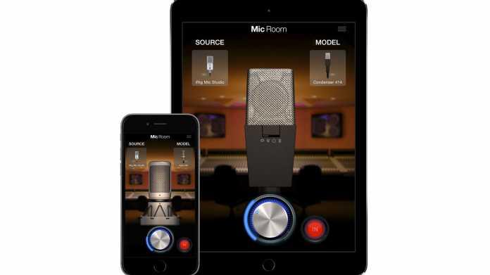 Mikrofon-Simulation für iPad und iPhone