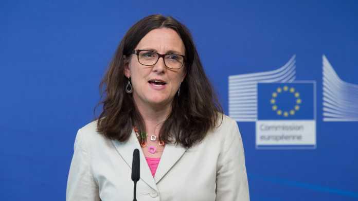 EU-Kommissarin: Cecila Malmström