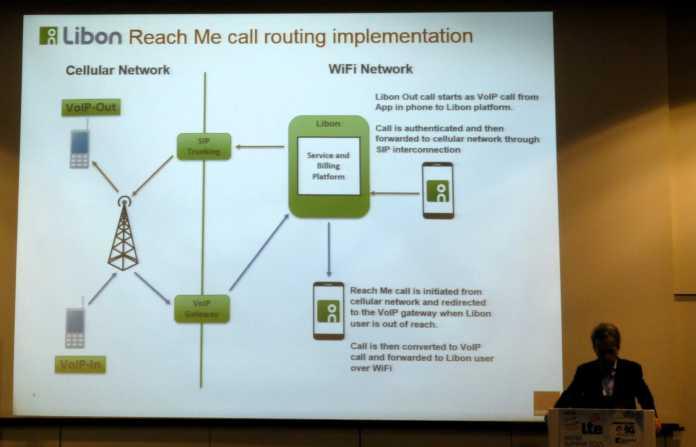 Orange wartet noch mit dem kommerziellen VoLTE-Rollout und verbindet vorerst die Telefonie über WLAN mit dem Mobilfunknetz. Pierre-Francois Dubois, Director Marketing Products bei Orange, stellt das VoWiFi-Konzept vor.