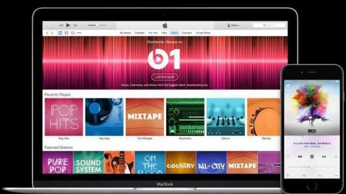 iTunes 12.2 und Beats 1
