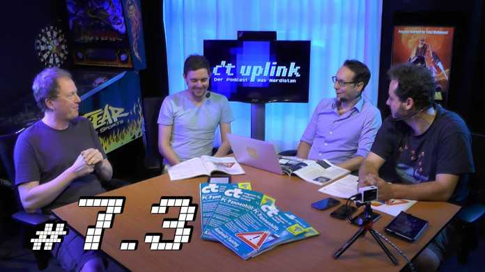 c't uplink 7.3: Custom-ROMs für Android, neuer Kindle Paperwhite, PC-Pannenhilfe