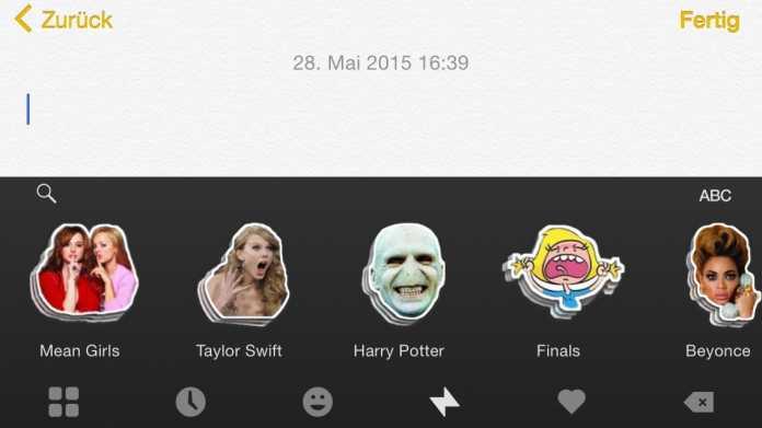 iOS-8-Tastatur Fleksy wird kostenlos