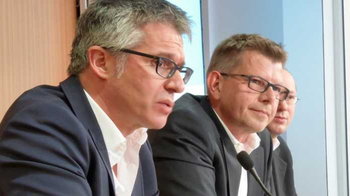 Bernhard Rohleder und Thorsten Dirks