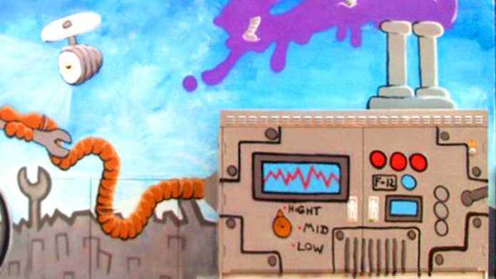 Deutsche Telekom gibt graue Kästen für Graffittikunst frei