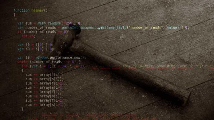 Rowhammer, jetzt auch mit JavaScript