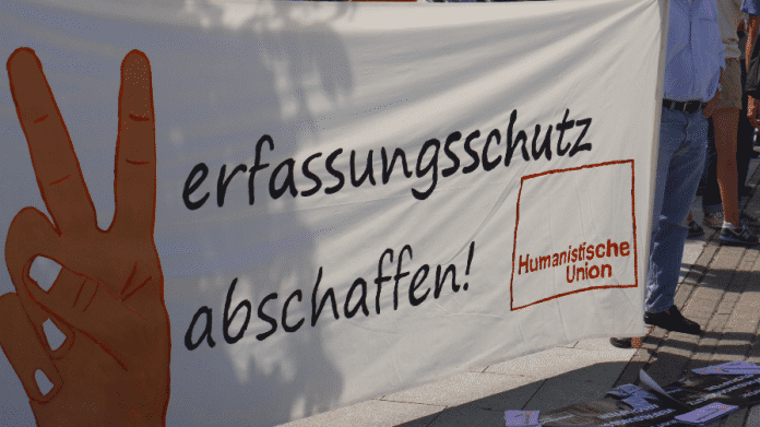Demonstration Pressefreiheit