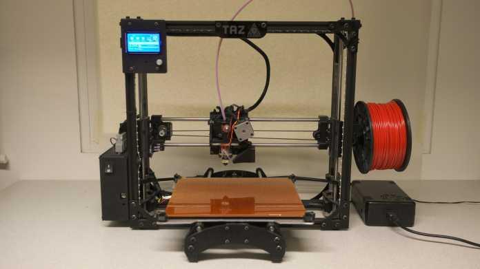 Ausprobiert: 3D-Drucker TAZ 4 von Lulzbot
