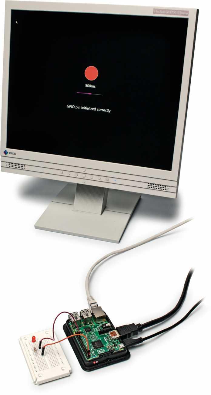 Raspi unter Windows mit Bildschirmausgabe