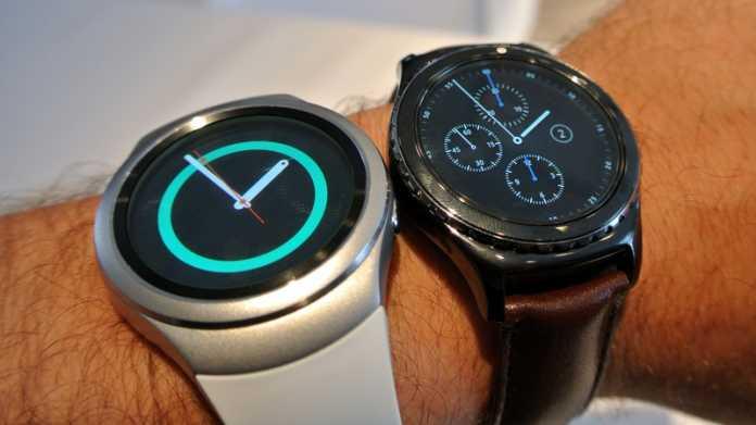Samsung Gear S2 im Hands-on: Drehen statt Wischen