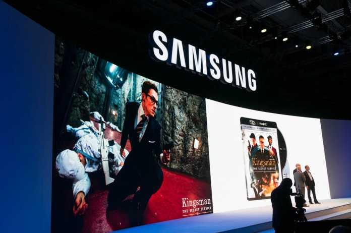 Mit Fox zeigte eine Hollywood-Studio auf der Samsung-Pressekonferenz eine Ultra HD Blu-ray.