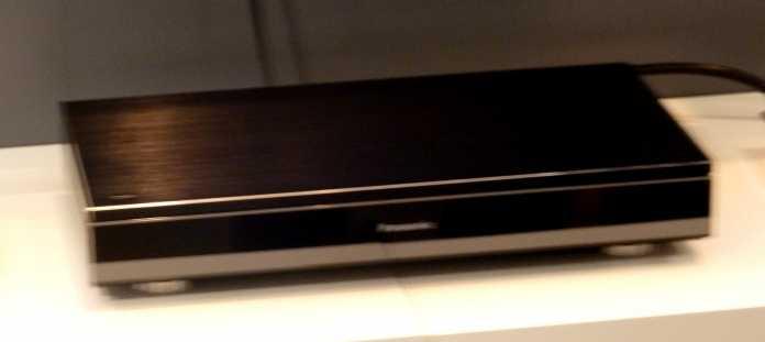 Fotografieren (noch) nicht erwünscht: Panasonic hielt sich mit Ankündigungen zum Ultra HD Blu-ray-Player zurück.