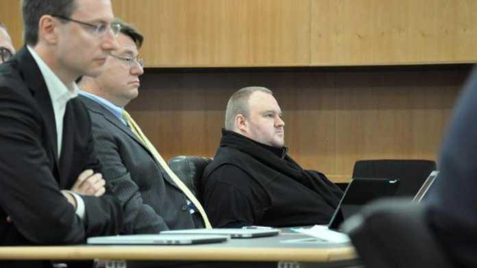 Kim Dotcom vor Gericht
