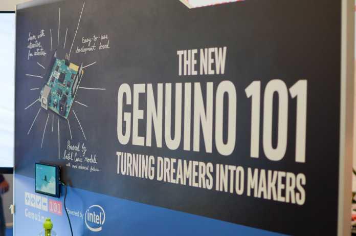 Nicht träumen, sondern machen: Intel und Arduino wollen mit dem 101 vor allem den Nachwuchs erreichen.