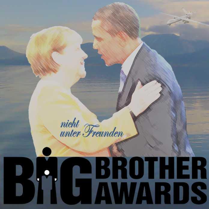 """Merkel, Obama """"nicht unter Freunden"""" BIG Brother Awards"""
