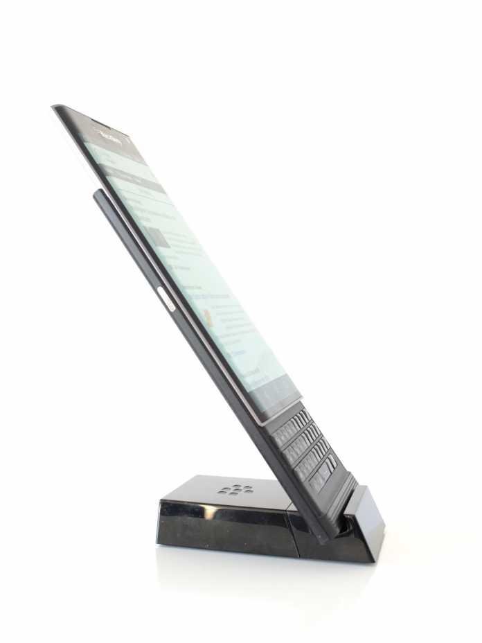 Display von Samsung, Gorilla Glass 4, dazu eine schlanke Bauform. Der Priv kann sich sehen lassen.