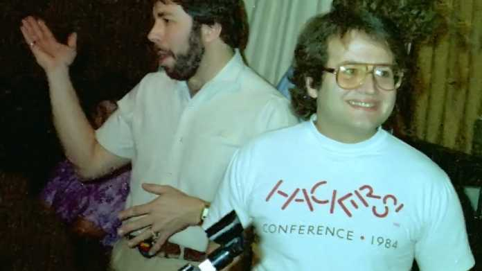 Steve Wozniak (links) und Andy Hertzfeld