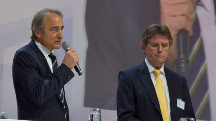 Karl-Heinz Streibich (li.) und Klaus Vitt