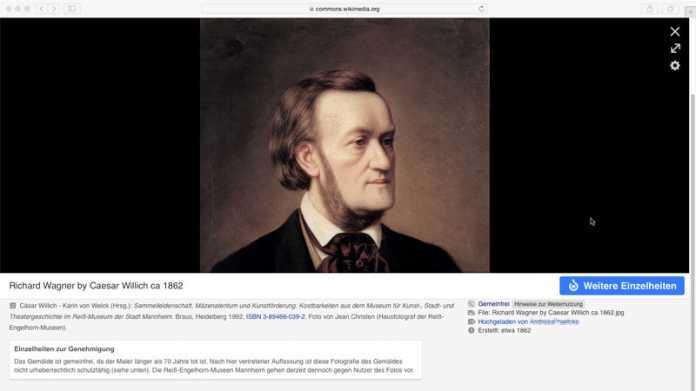 Richard Wagner Gemälde