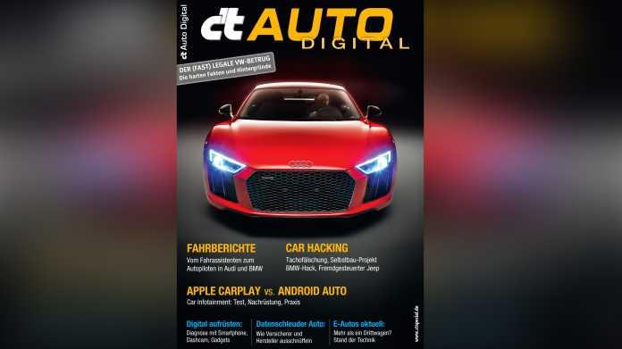 c't Auto Digital jetzt im Handel