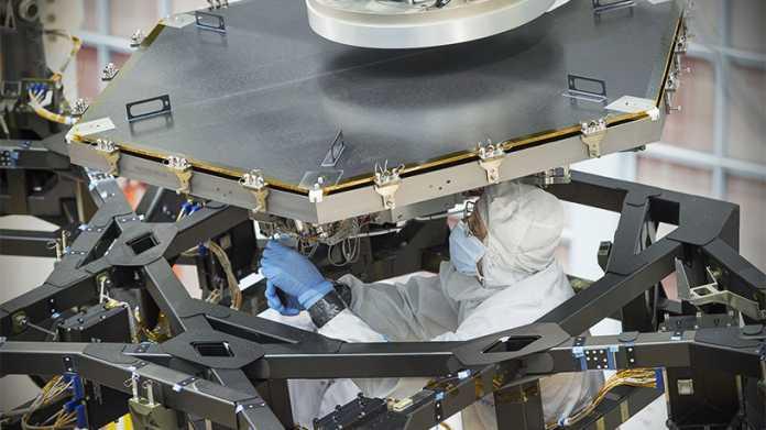 NASA beginnt Endfertigung des James-Webb-Weltraumteleskops