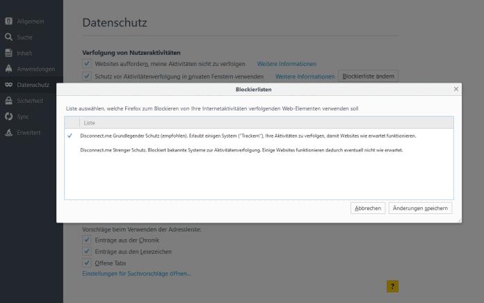 Auf Wunsch schützt Firefox noch strenger vor Trackern. Das kann aber auch Nachteile haben.