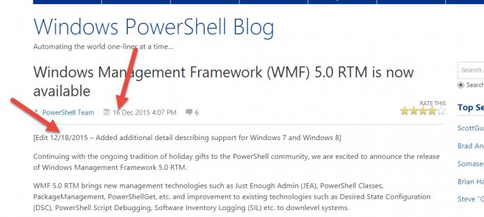 Hier wird die nachträgliche Reaktion seitens Microsoft offenbar.