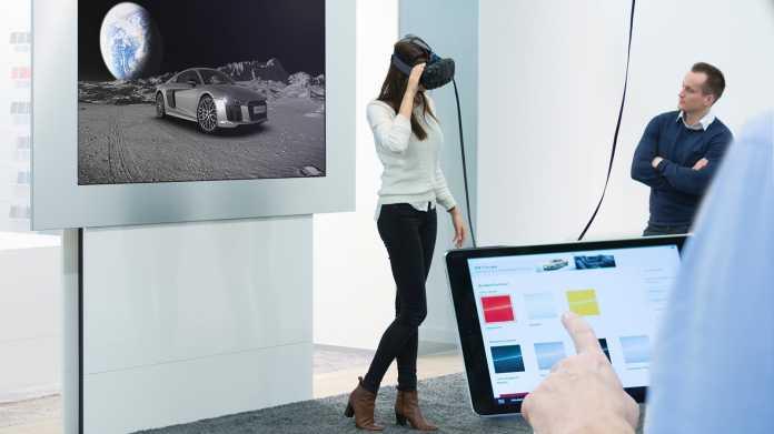 Audi-Händler installieren Virtual-Reality-Stationen